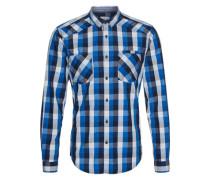 Hemd 'vichy check' blau