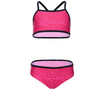 Bikini 'nitzummer' pink / rot