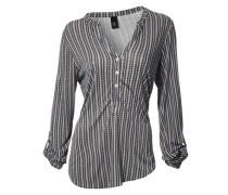 Shirtbluse beige / grau
