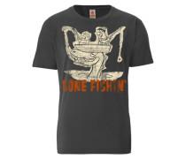 """T-Shirt """"Familie Feuerstein"""" grau"""