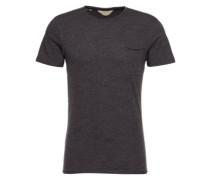 T-Shirt Rundhalsausschnitt anthrazit