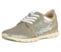 Sneaker gold / silber
