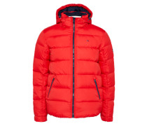 Winterjacke 'thdm Basic Down HD JKT 12' rot