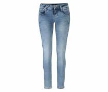 Slim-fit-Jeans 'indiana' blau