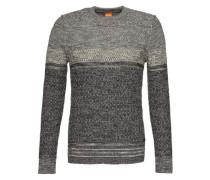 Pullover 'Agruade' grau / schwarz