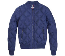Jacke 'thdw Quilted Bomber 18' blau