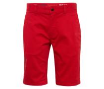 Shorts im Chino-Stil 'Freddy' rot