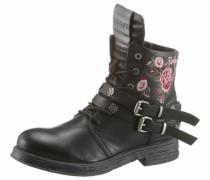 -Boots schwarz