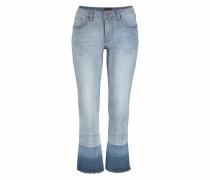 7/8-Jeans hellblau