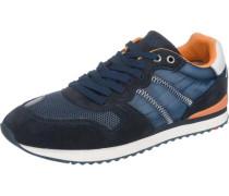 Sneakers 'Eastman' blau / orange