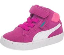 Baby Sneakers '1948' aus Leder pink / weiß