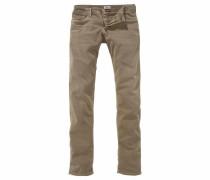 Slim-fit-Jeans 'Scanton' beige