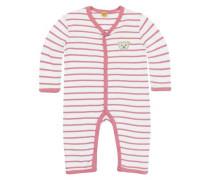 Schlafanzug pink / weiß