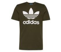 T-Shirt mit Rundhalsausschnitt dunkelgrau