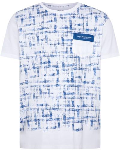Shirt 'rodd' blau / weiß