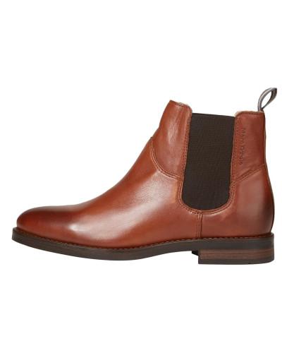 Chelsea Boots cognac / dunkelbraun