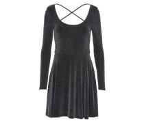 Kleid 'niceback Glitter' dunkelgrau