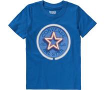 T-Shirt mit 'GLOW-IN-THE-DARK-Print' für Jungen blau