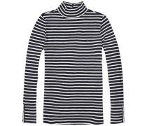 """Sweatshirt """"thdw Basic STP TNK LT Knit L/S 20"""" navy / weiß"""