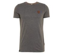 T-Shirt 'Halim Trabando' basaltgrau