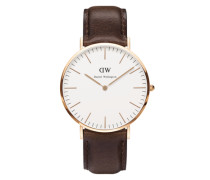 Uhr 'Classic Collection Bristol' gold / braun