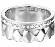 Ring-Set »-Jw52891 Esse11041A« (Set 2 tlg.) grau