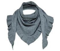 Rüschen-Schal graumeliert