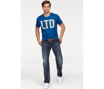 T-Shirt P blau
