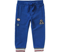 Baby Jogginghose Parkin für Jungen blau / grau / rot / weiß