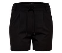 Shorts 'Poptrash' schwarz / weiß
