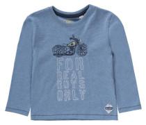 Langarmshirt für Jungen UV-Schutz 30+ blau / dunkelblau / blaumeliert / gelb / weiß