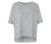 Kurzarmsweater LEO Cape grau