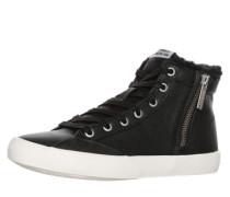 Sneaker 'Clinton Fur' schwarz