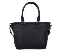 'Inke' Kuba Shopper Tasche schwarz