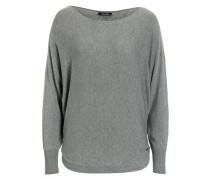 Pullover Fledermausärmel grau grau