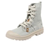 Sneaker 'high fold' hellblau