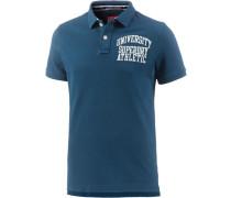 Poloshirt Herren blau