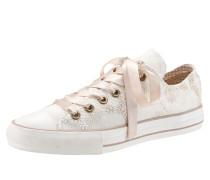 Trachtenschuh Damen mit Doppel-Schuhband weiß