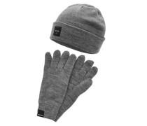 Geschenk-Set Handschuhe und Beanie