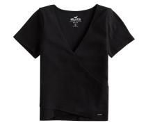 Shirt 'Distortion' schwarz