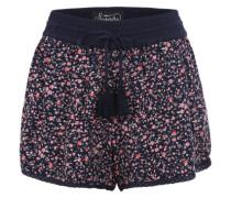 Strand-Shorts 'Mariner Beach' navy / rot