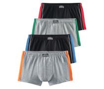 Boxer Authentic Underwear (4 Stck.) grau / schwarz