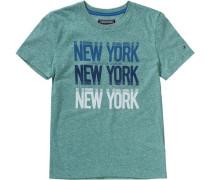 Baby Jeans für Jungen blau / türkis