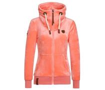 Female Zipped Hoody MB Mack orange