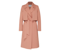 Mantel im Trench-Look rosa