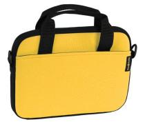 Classic Sleeves Laptophülle 28 cm gelb / schwarz