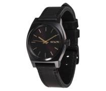 Armbanduhr 'Medium Time Teller' schwarz