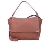 'Twentyone Messenger Bag' Tasche Leder 26 cm pink