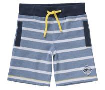 Shorts für Jungen UV-Schutz 30+ blau / dunkelblau / gelb / weiß
