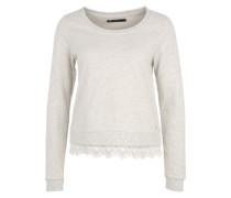 Sweatshirt 'ONLLacy' beige